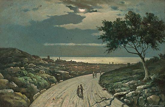 Gaietá Benavent Reus 1834 - Barcelona 1910 Night view