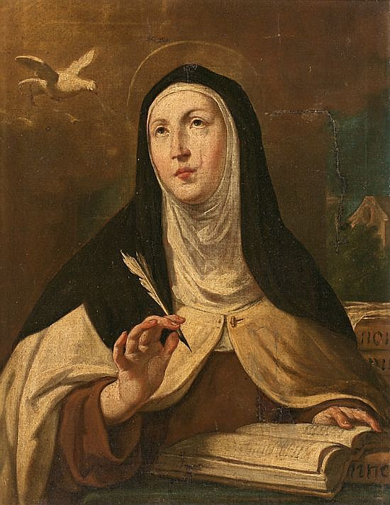 Antoni Viladomat i Manalt Barcelona 1678 - 1755 Saint Teresa