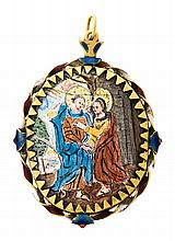 A pendant medallion from the mid 17th Century