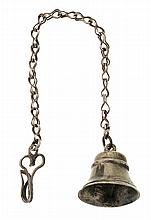 A silver Spanish little bell, from the 18th Century