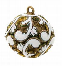 A button-perfume jar from the 17th Century