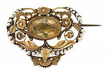 A Valencian brooch from the late 18th Century - early 19th Century