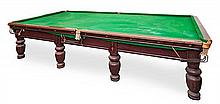 Big Victorian billiard table, from the late 19th Century