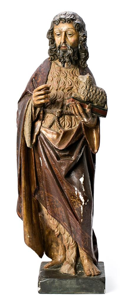 Attributed to Alejo de Vahía ? - ? c. 1515 Saint John the Baptist