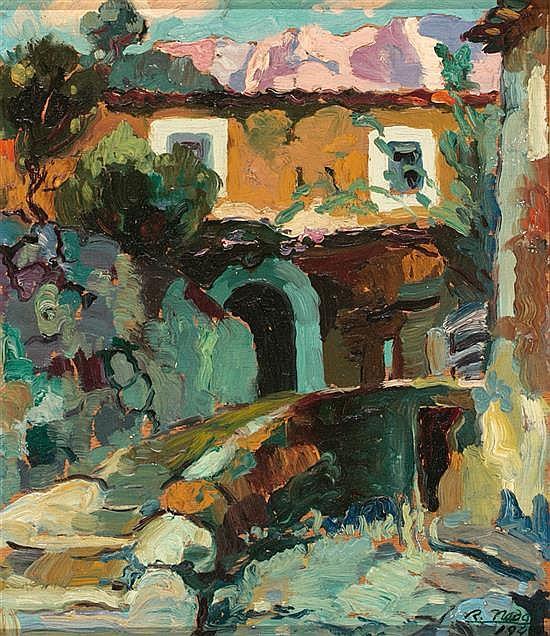 Ramon Nadal Horrach Palma de Mallorca 1913 - 1999 Landscape of Mallorca