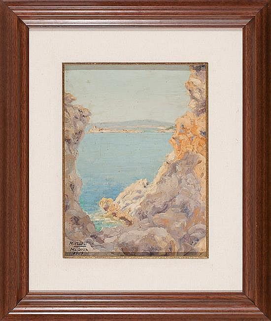 Ramon Nadal Horrach Palma de Mallorca 1913 - 1999 Enfronts (Palma de Mallorca)