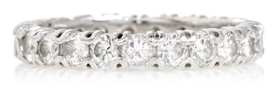 Sortija alianza de diamantes