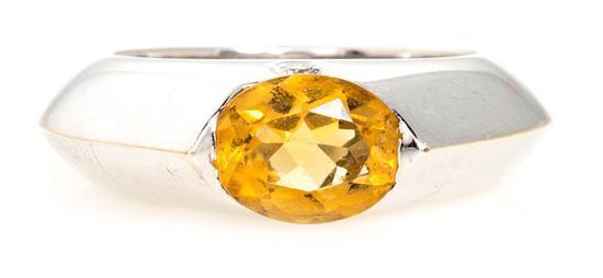 Joyería Piaget, sortija en oro y pedrería