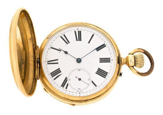 Reloj de bolsillo en oro