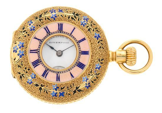 Schierwater & Lloyd, reloj de bolsillo y esmalte