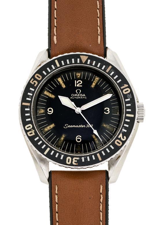 Omega, Seamaster 300, reloj de pulsera de caballero en acero