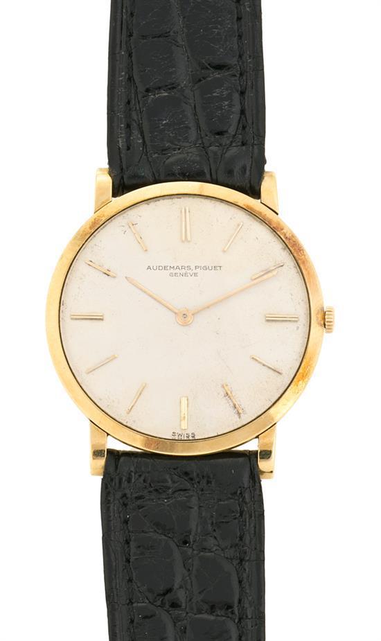 Audemars Piguet, reloj de pulsera de caballero en oro