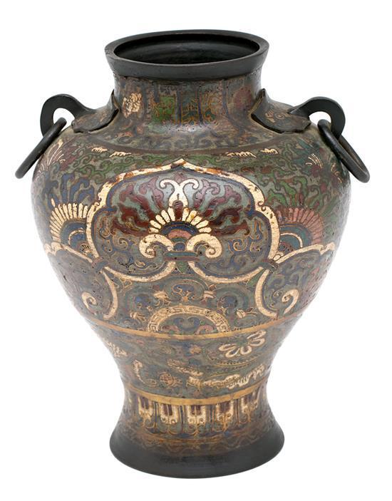 Japanese vase in