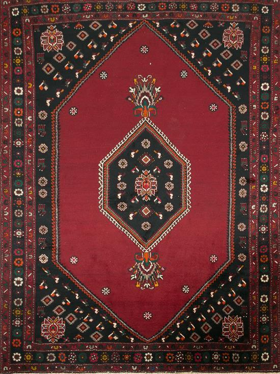 Three oriental wool carpets, second third of the 20th century