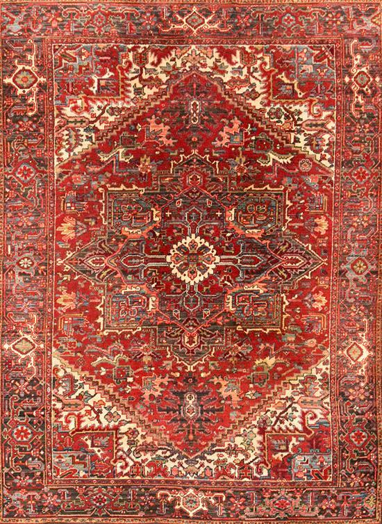 Two oriental wool carpets, second third of the 20th century