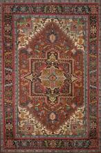 Large oriental wool carpet, second third of the 20th century