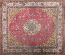Persian wool carpet, first half of the 20th century
