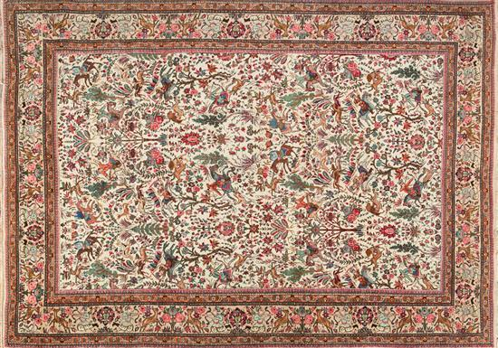 Persian wool carpet, third quarter of the 20th century