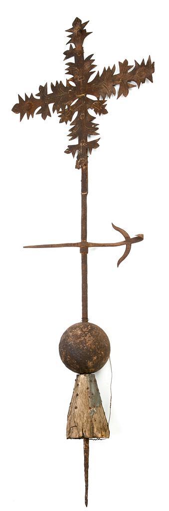 Veleta española en hierro, del siglo XVII