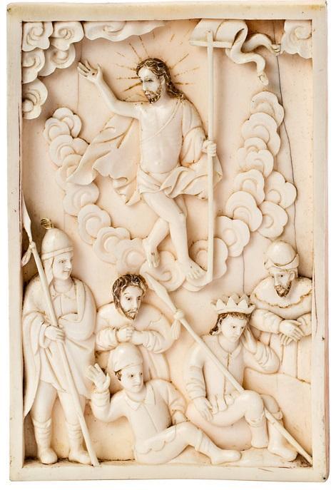 Hispano-Philippine or Indo-Portuguese school of the 17th Century The Resurrection of Christ