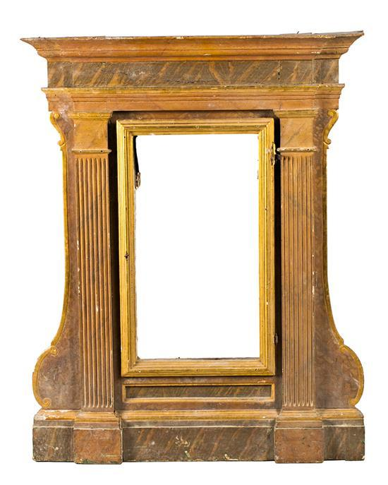 Spanish school, late 18th Century  Frame-niche