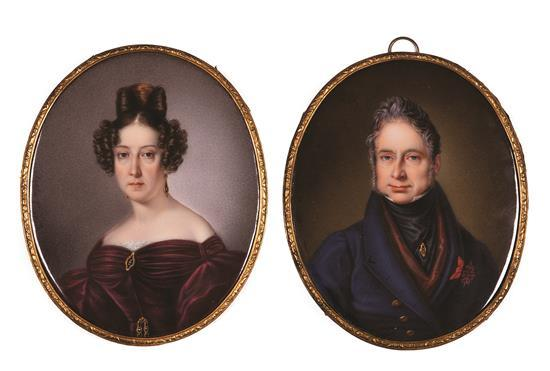 Sophie Liénard Francia, activa hacia 1842 - después de 1860 José Gabriel de Silva-Bazán y Waldstein, X marqués de Santa Cruz de Mude...