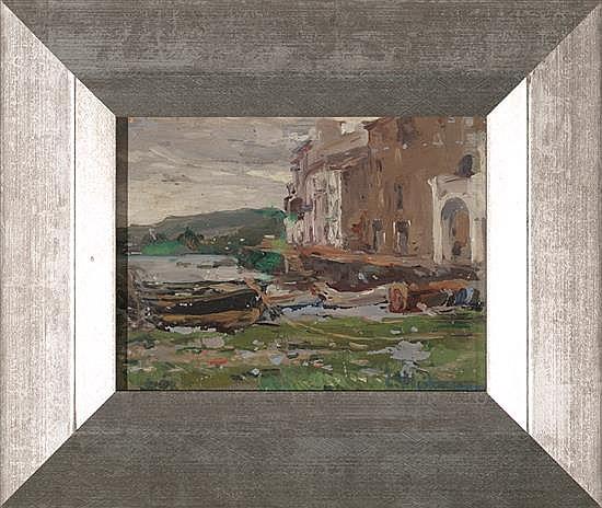Eliseo Meifrén Barcelona 1857 - 1940 Port Alguer, Cadaqués