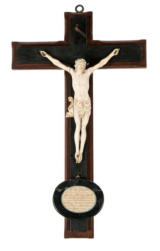 French school, late 18th Century-early decades of the 19th century  Christ on the Cross