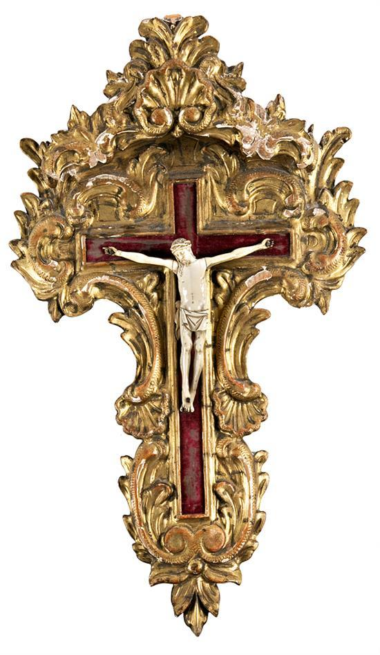 Spanish school, first third of the 20th Century  Christ on the Cross