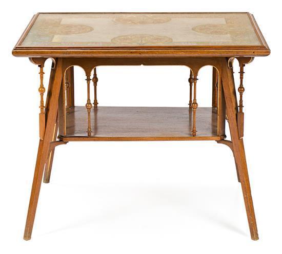 Francesc Vidal Jevellí, Barcelona 1847-1914, and Frederic Vidal i Puig, Barcelona 1882-1950  Centre table