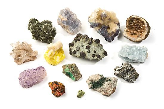 Collection of about 4,800 minerals