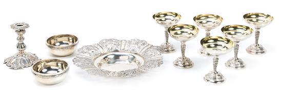 Diversas piezas barcelonesas en plata, del primer tercio del siglo XX