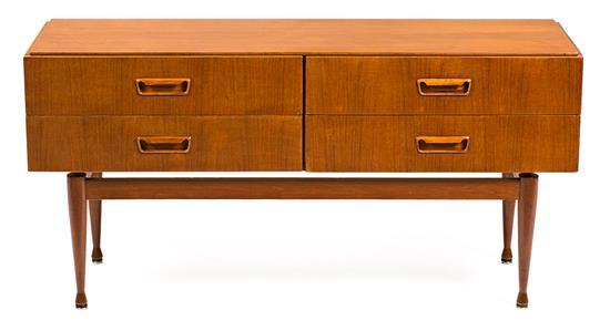 French teak sideboard, circa 1960