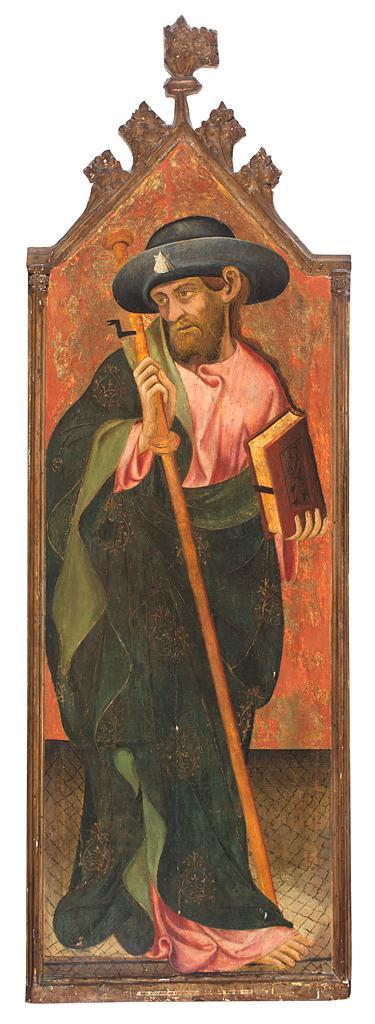 Pasqual Ortoneda Documentado en Tarragona, Huesca, Zaragoza, Monzón y Barbastro, 1421-1460 Santo Tomás apóstol, San Jaime apóstol y...
