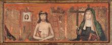 Juan Ximénez Documentado en Aragón a finales del siglo XV Man of Sorrows and Our Lady of Sorrows