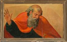 Valencian School, 16th Century Follower of Joan de Joanes  God the Father