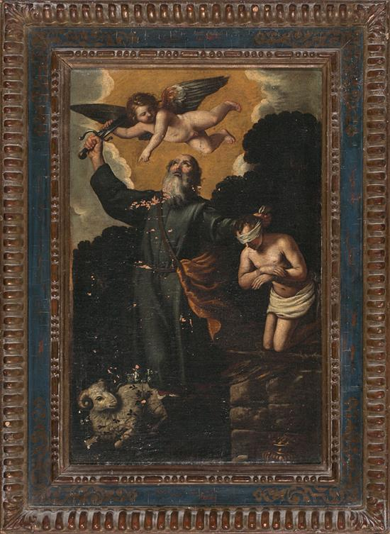 Italian School, 17th Century  The Sacrifice of Isaac