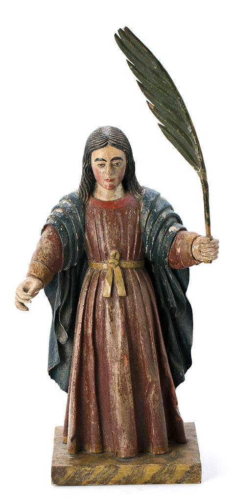 Spanish School, 17th Century A holy martyr, possibly St. Eulalia
