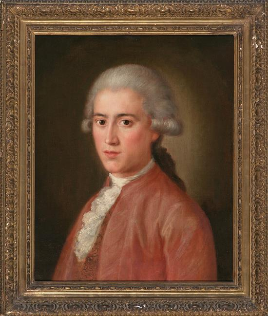 Possibly French School, 18th Century Portrait of a Young Man