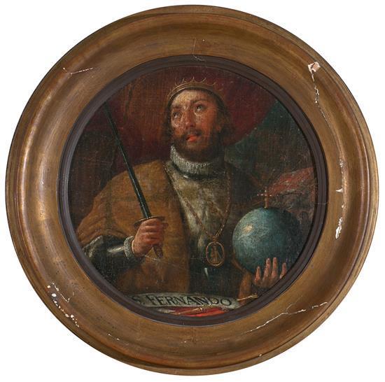 Antoni Viladomat Barcelona 1678 - 1755 St. Ferdinand