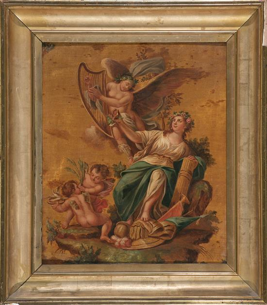 Spanish School, 18th Century  Proserpina or Allegory of Spring