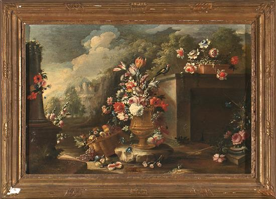Attributed to Gasparo López Nápoles 1650 - 1732 Still Life
