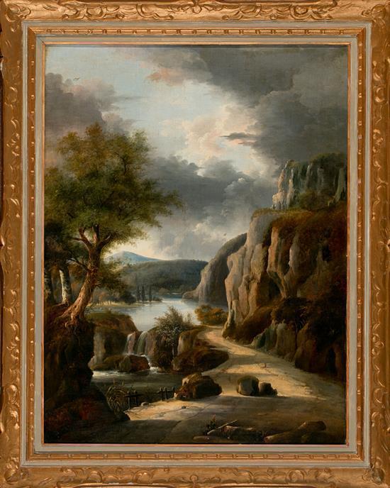 Coralli Activo en Italia en el siglo XIX Paisaje Óleo sobre lienzo