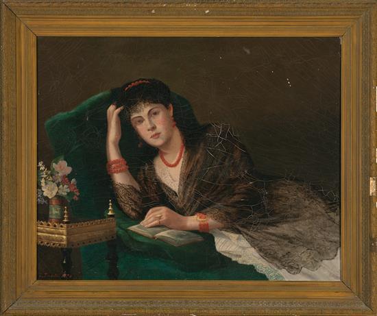 L. Trudelle Activo probablemente en Francia en el siglo XIX Reader