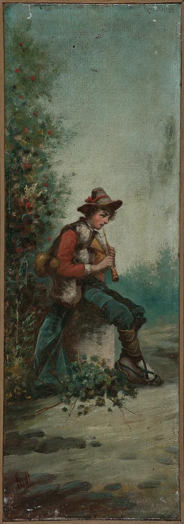 Rull Activo en Cataluña a finales del siglo XIX Bucolic Scenes