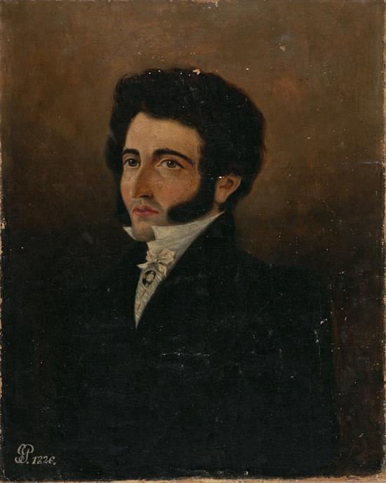 Spanish School, 19th Century Male Portrait