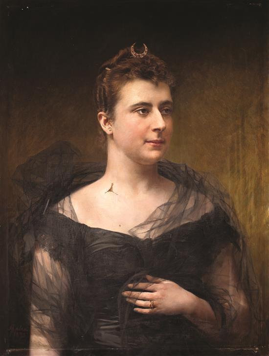 Antoni Caba Barcelona 1838 - 1907 Young Lady