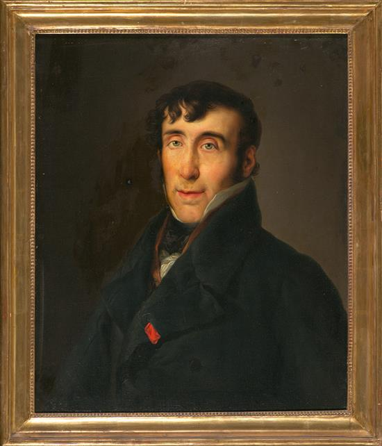 Workshop of Vicente López Valencia 1772 – Madrid 1850 Portrait of Agustín de Quinto y Guiu