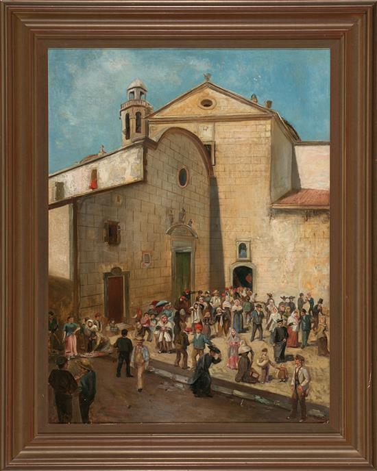 Ricardo Martí Aguiló Barcelona 1868 - 1936 Out of Mass