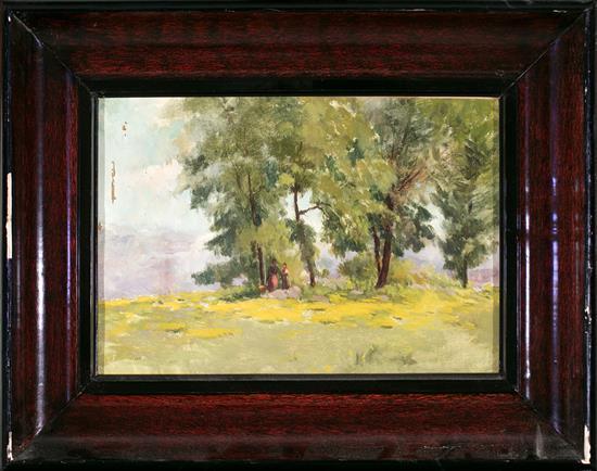 Josep Berga Boix La Pinya 1837 - Olot 1914 Landscape